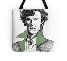 The Sherlock Variations (Green) Tote Bag