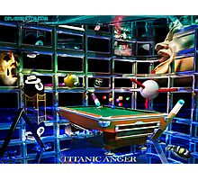 Titanic Anger Photographic Print