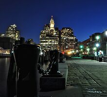 Boston MA - Harbour Lights by ColinKemp