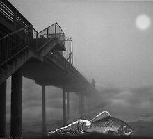 MOONLIGHT BEACH by Larry Butterworth