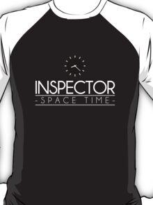 Inspector Spacetime (Minimalism) T-Shirt