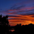 Simple Sunset by Vince Scaglione