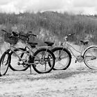 Bikes On The Beach by Cynthia48