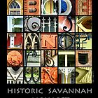 Historic Savannah Alphabet by Ellen  Hagan