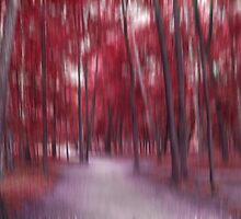 Forrest in Motion, Moscow (red) by KUJO-Photo