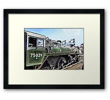 The Green Knight Locomotive Framed Print