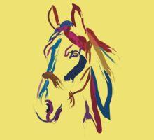 Cool t-shirt Horse Colour me beautiful Kids Clothes