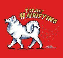 Samoyed :: Totally Hairifying by offleashart