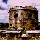Pendennis Castle, Cornwall by Dennis Melling