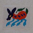 Stitcherie on Bark Paper - Papel Amate con Bordado by PtoVallartaMex