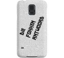 Die Fokken Antwoord Samsung Galaxy Case/Skin