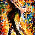 MIDNIGHT TANGO - OIL PAINTING BY LEONID AFREMOV by Leonid  Afremov