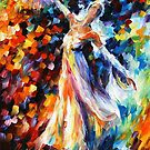 SNOW QUEEN - OIL PAINTING BY LEONID AFREMOV by Leonid  Afremov