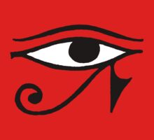 Egyptian Eye of Horus T-Shirt by AsianT-Shirts