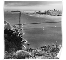 Historic Ship Parade - 75th Anniversary of the Golden Gate Bridge Poster