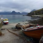 Elgol Harbour II - Isle of Skye by Kat Simmons