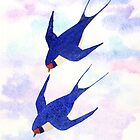 Swallows by Sue Brown