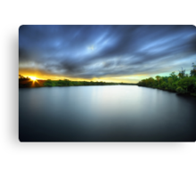 In The Quiet Times Canvas Print