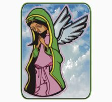 SHE WHO PRAYED FOR FORGIVENESS (STAINED GLASS) by S DOT SLAUGHTER