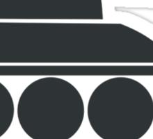 Tanked Tank Sticker