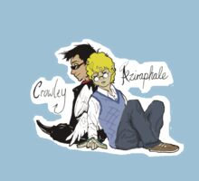 Crowley and Aziraphale (Good Omens) by pagalini