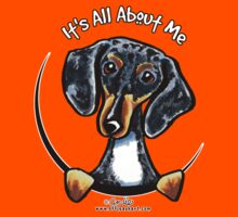 Smooth Dapple Dachshund :: It's All About Me by offleashart