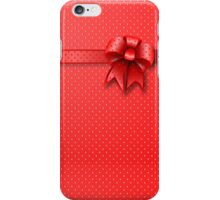 Case Red Bow iPhone Case/Skin