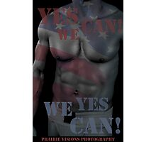 17619 Yes We Can! Photographic Print