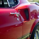 Red Mustang - Get a handle by Norman Repacholi