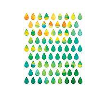 Monsoon Rain Photographic Print
