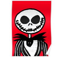 Jack on Red  Poster