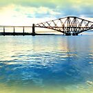 Queensferry ~ Bridges at Twilight by ©The Creative  Minds