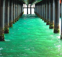 Peering Beneath the Pier by Mary-Elizabeth Kadlub