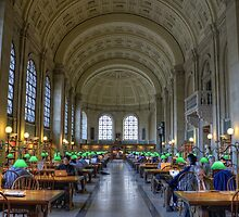 Reading Room Middle by jswolfphoto