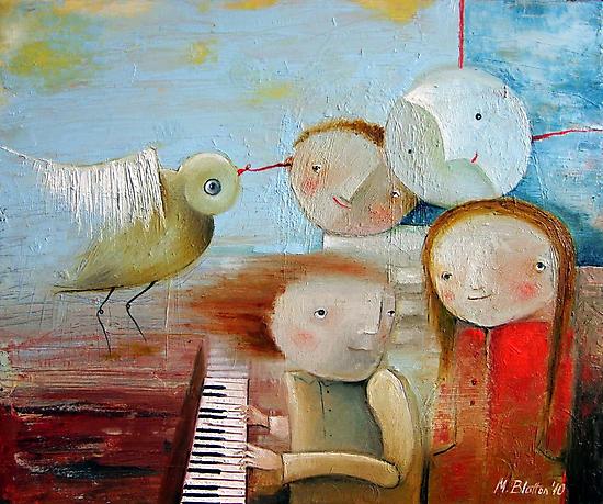 Sonata by Monica Blatton
