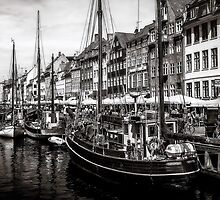 Nyhavn Harbor by Erik Brede
