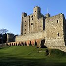 Rochester Castle, Rochester, Kent, England by Katy Marriott