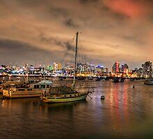 San Diego Bayside by jswolfphoto