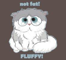 Not fat - fluffy! by pidzson
