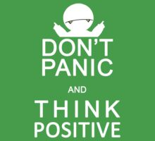 Marvin the Paranoid Android - Don't panic and think positive. by logosandpathos