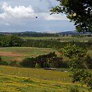 Landscape with Balloon Howgate by photobymdavey