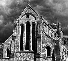 Romsey Abbey by eddiechui