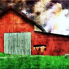 Lil Red Barn by Donnie Voelker
