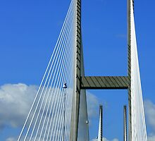 Sidney Lanier Bridge by AuntDot