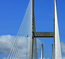 Sidney Lanier Bridge by AuntDot