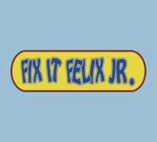 Fix it Felix Jr by gorillamask