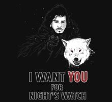Uncle Jon- Game of Thrones Shirt by spacemonkeydr