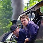 Driver And Fireman by Colin J Williams Photography