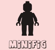 Minifig [Black] by Customize My Minifig by ChilleeW