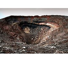 The Crater Photographic Print